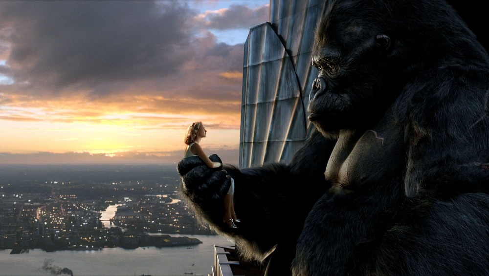 King Kong and girl