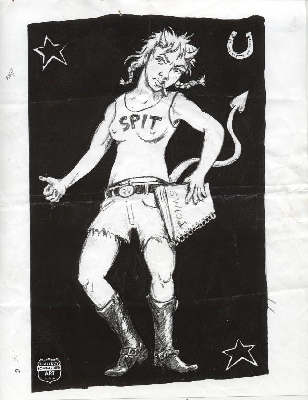 devil girl orig-Cooper Lee Bombardier.jpg