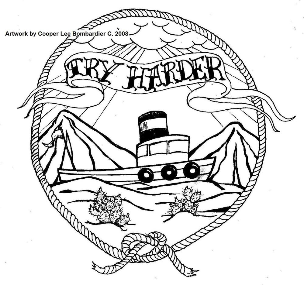Try Harder Tattoo Design by Cooper Lee Bombardier.jpg