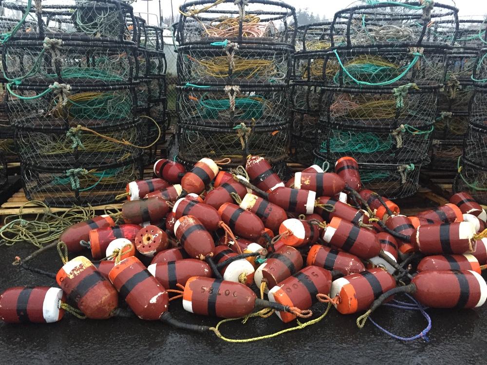 Ilwaco crab pots.