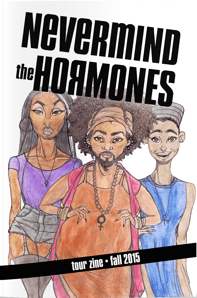 Nevermind the Hormones: Topside Press Tour Zine