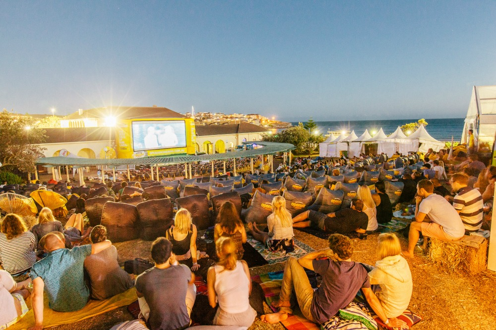The Sydney Open Air Cinemas at Bondi Beach
