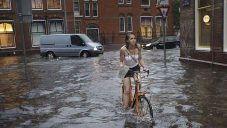 Steeds vaker water overlast in stedelijk gebied