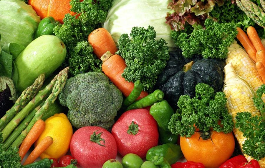 Groenten als basis voor verdere voedselverwerking tot soepen, sauzen etc, goed water is bij groei en verdere verwerking essentieel.