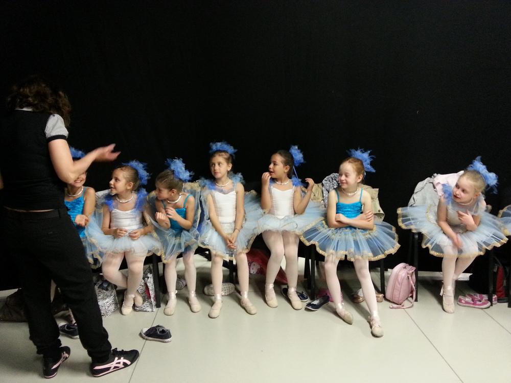Danza classica, bambini