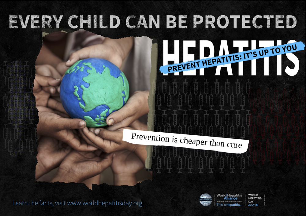Figure 1: A poster from World Hepatitis Alliance.