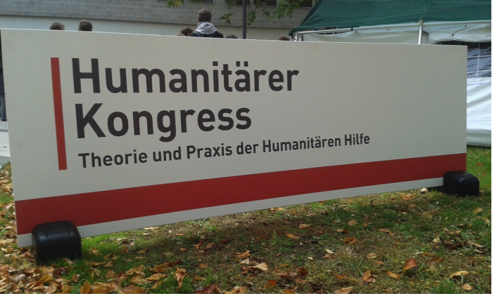 Humanitarian Congress, Berlin. Photo Credit: Victoria Stanford