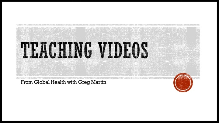 Global health with Greg Martin -