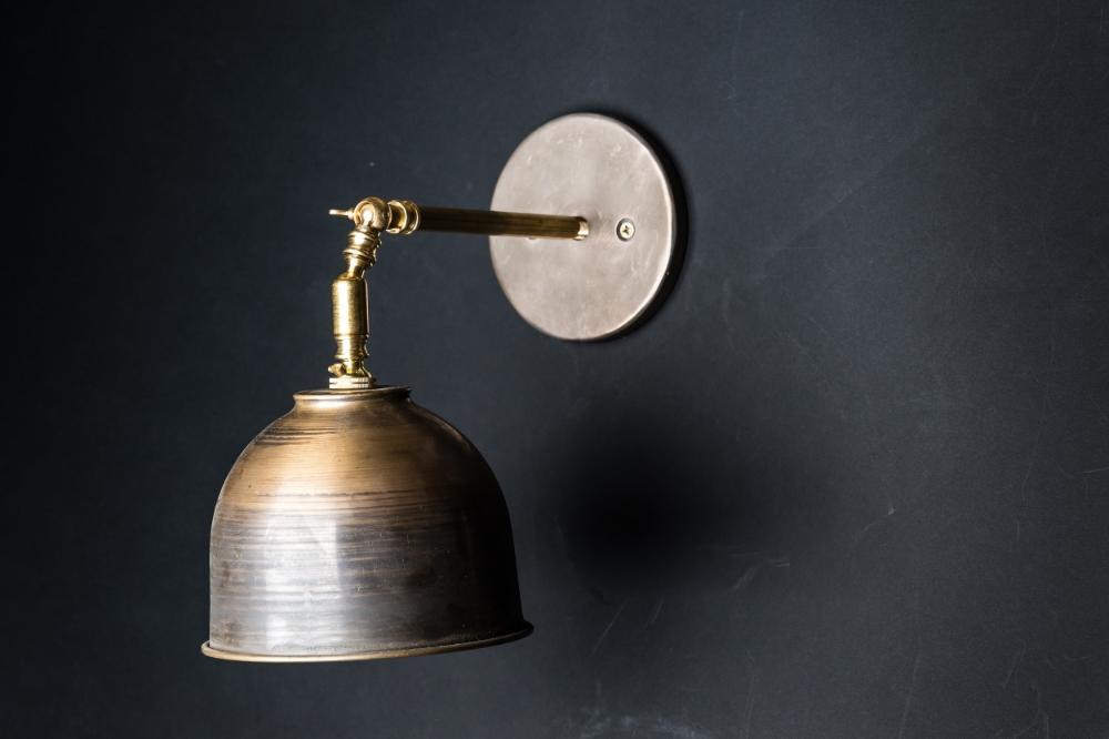 Vintage bronze wall light felix lighting specialists vintage vintage bronze wall light 01g mozeypictures Gallery
