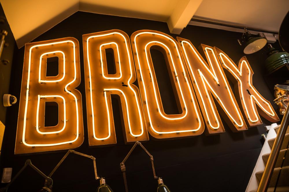 Bronx Neon Sign