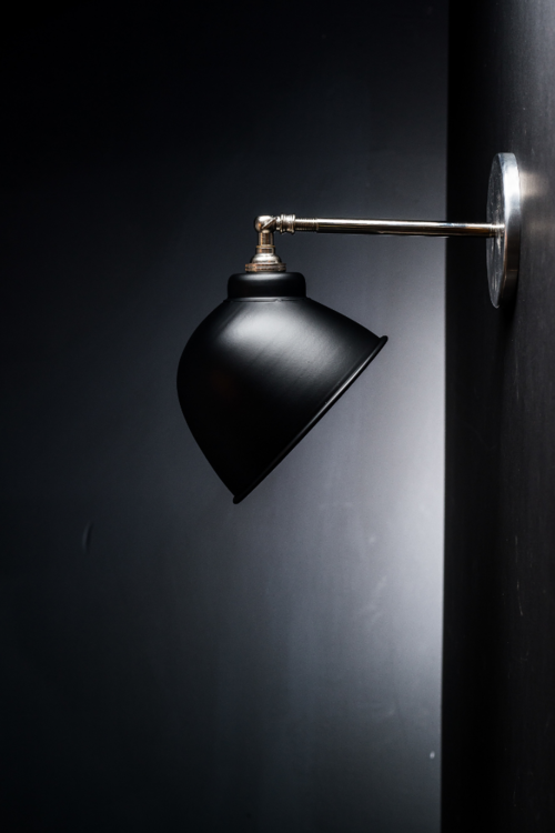 Felix original black enamel wall light felix lighting specialists original black enamel wall light aloadofball Choice Image