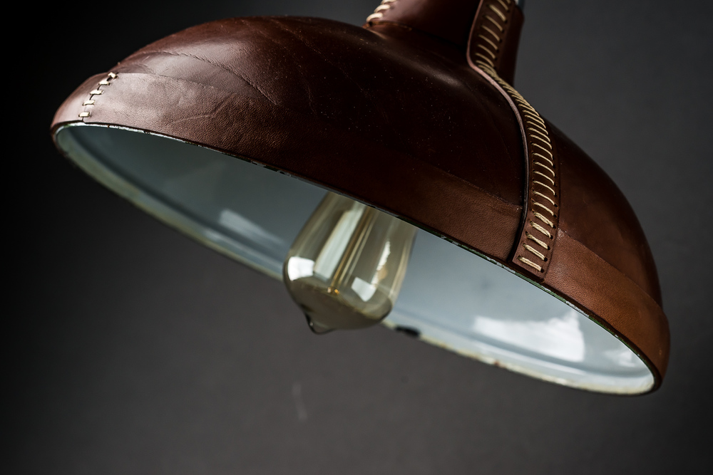 Hand Moulded and Stitched Leather Pendant03.jpg