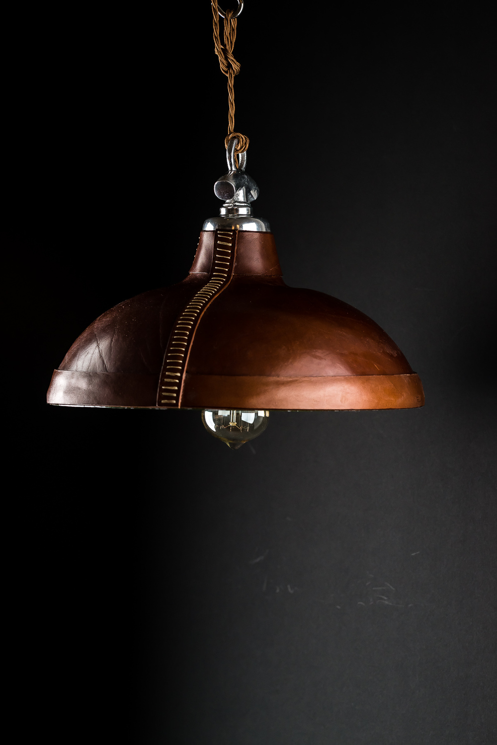 Hand Moulded and Stitched Leather Pendant05.jpg