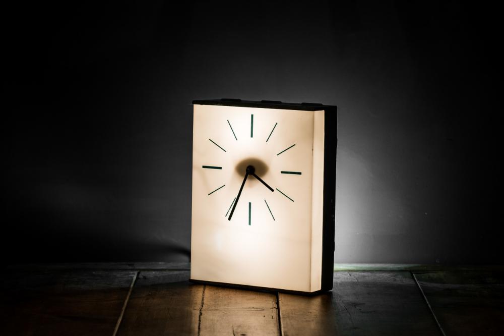 1950's Industrial Desk Clock