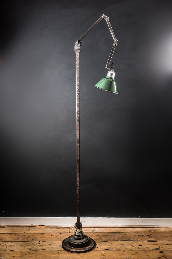 Floor Standing Machinist Lamp