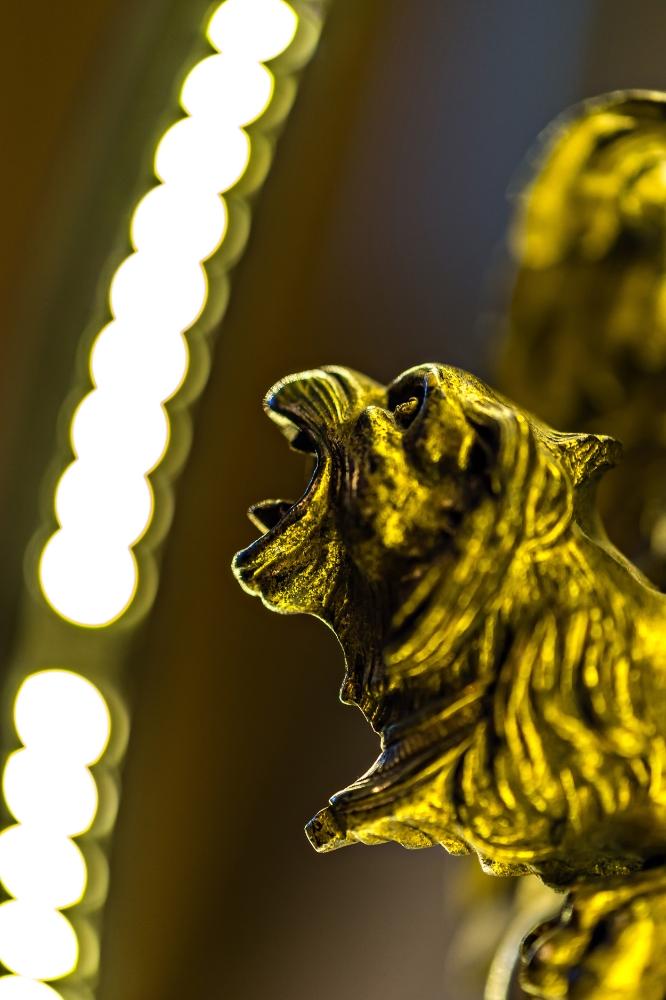Antique Brass Griffin Converted LED Desk Lamp 03.jpg