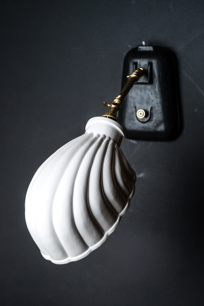 Felix original bone china shell wall light felix lighting bone china shell wall light 01g mozeypictures