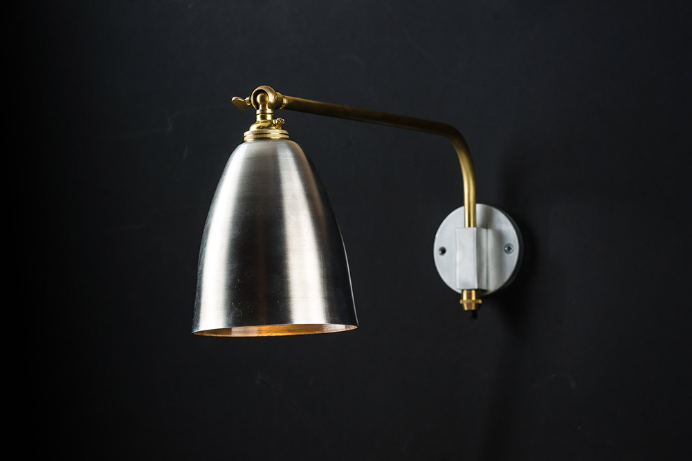 Aluminium and brass armed wall light 01.jpg