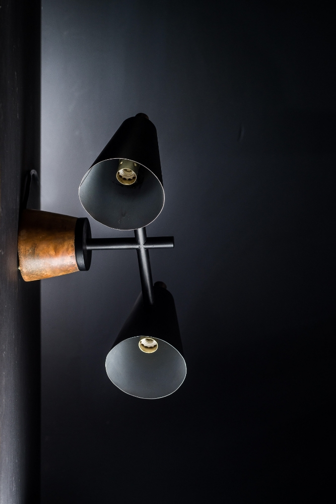 Bespoke Walnut and Steel Wall Light 01.jpg