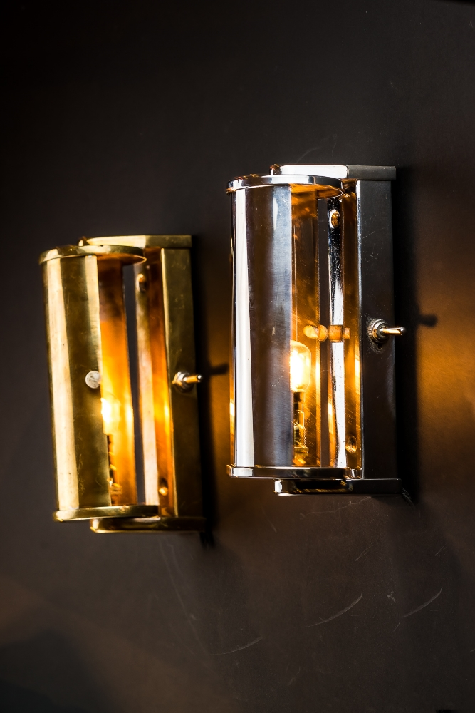 Aluminium and Brass Wall Light 01.jpg