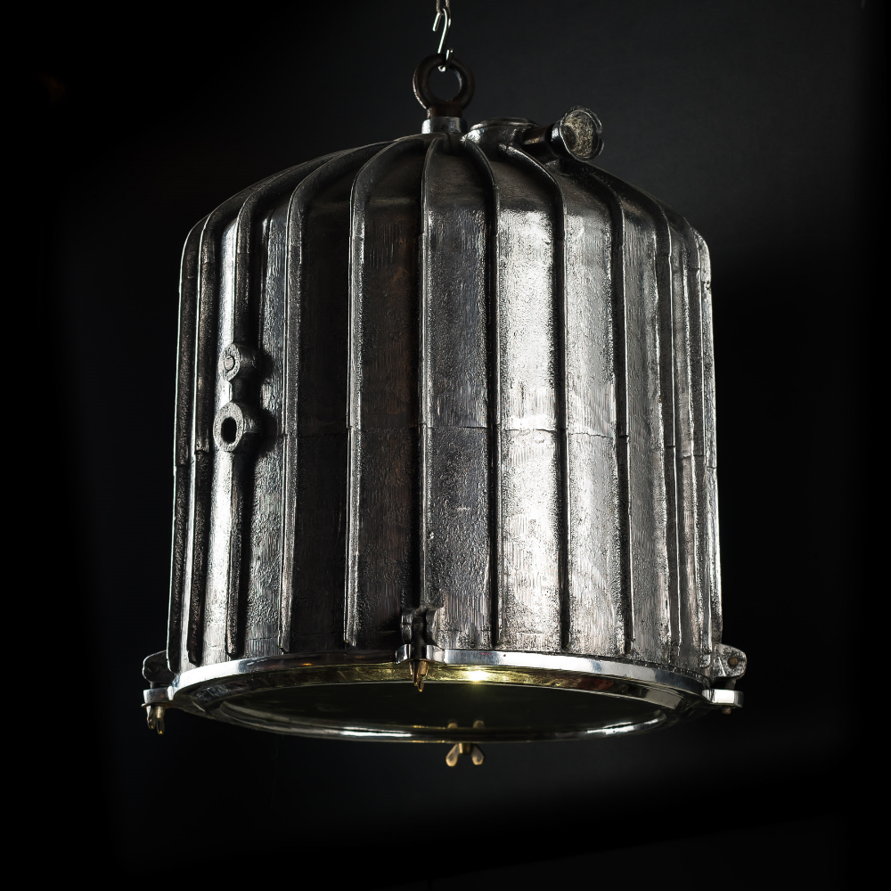XXL Russian Cargo Ship Pendant Light
