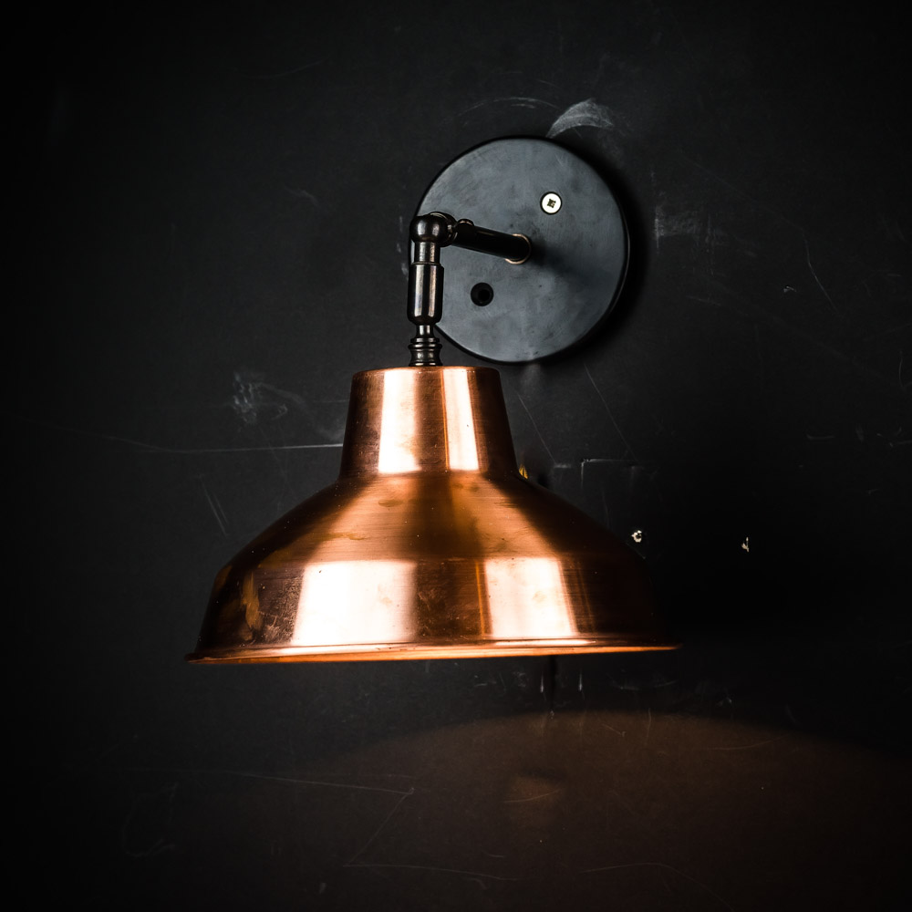 spun copper armed wall light 02.jpg