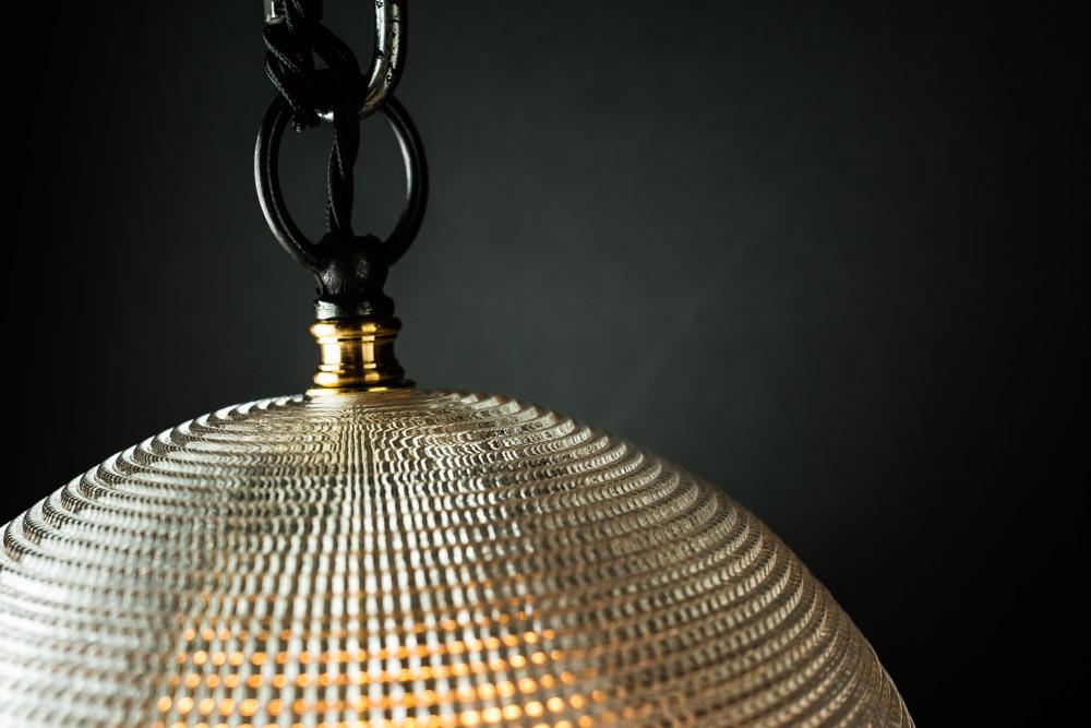Vintage holophane and grey enamel pendant08.jpg