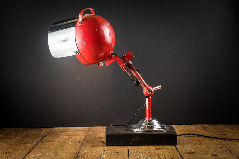 Vintage Fire Engine Search Light