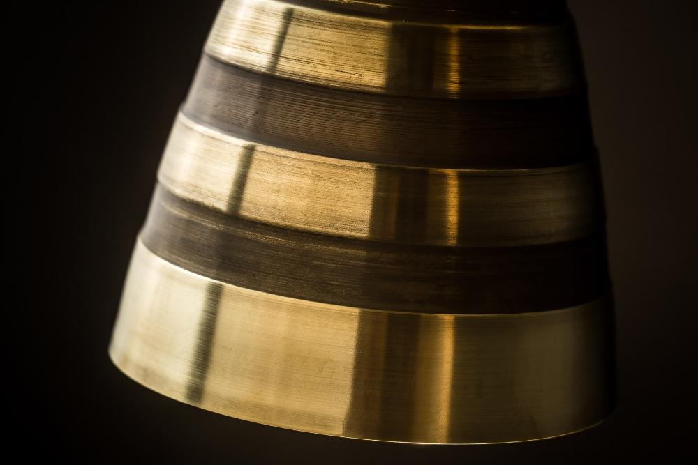 Adjustable brass and bronze 'hornet' wall light04.jpg