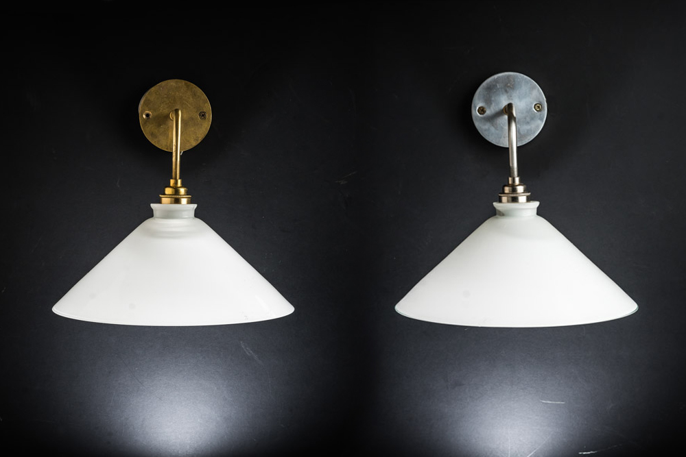 Milk glass wall light in brass or nickel 02.jpg