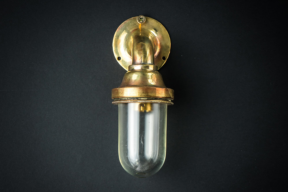 Miniature Bulkhead Wall Light