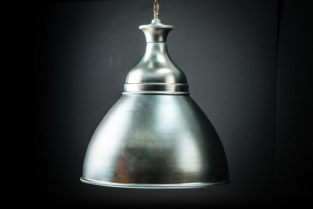 Galvanised Steel Benjamin Pendant