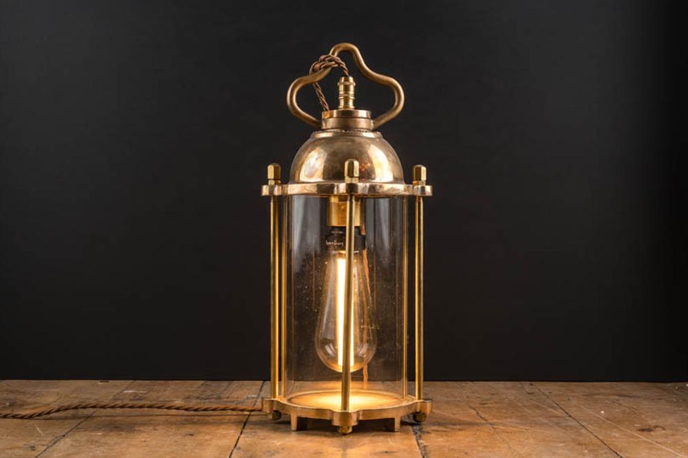 Vintage Bronze Diving Lantern.jpg