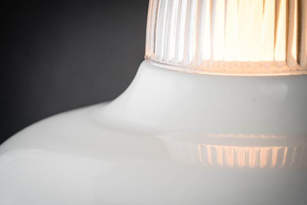 white enamel and reeded glass pendant 04.jpg