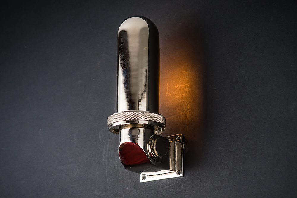 polished steel and aluminium swivel wall light 01.jpg