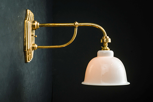 Benson brass and bone china wall light.jpg