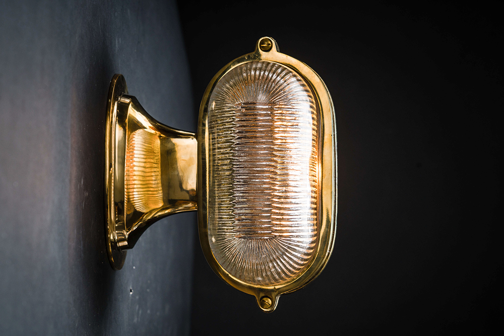 Henley brass and prismatic glass wall light.jpg