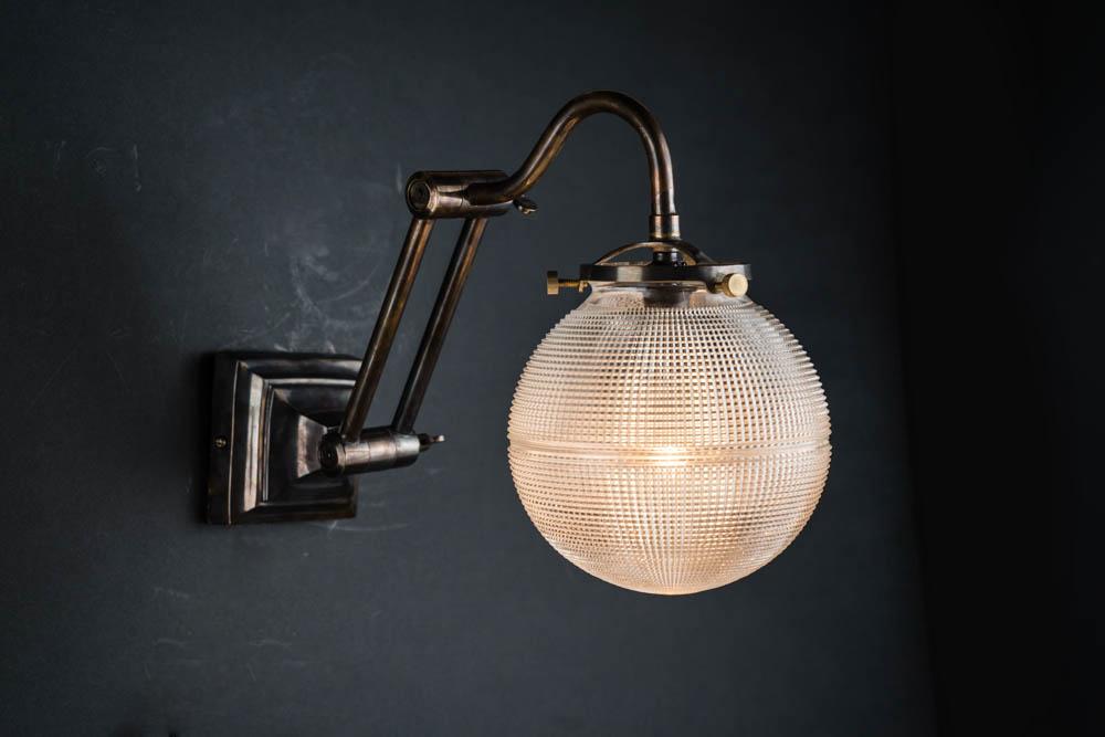 adjustable bronze and holophane globe wall light 02.jpg