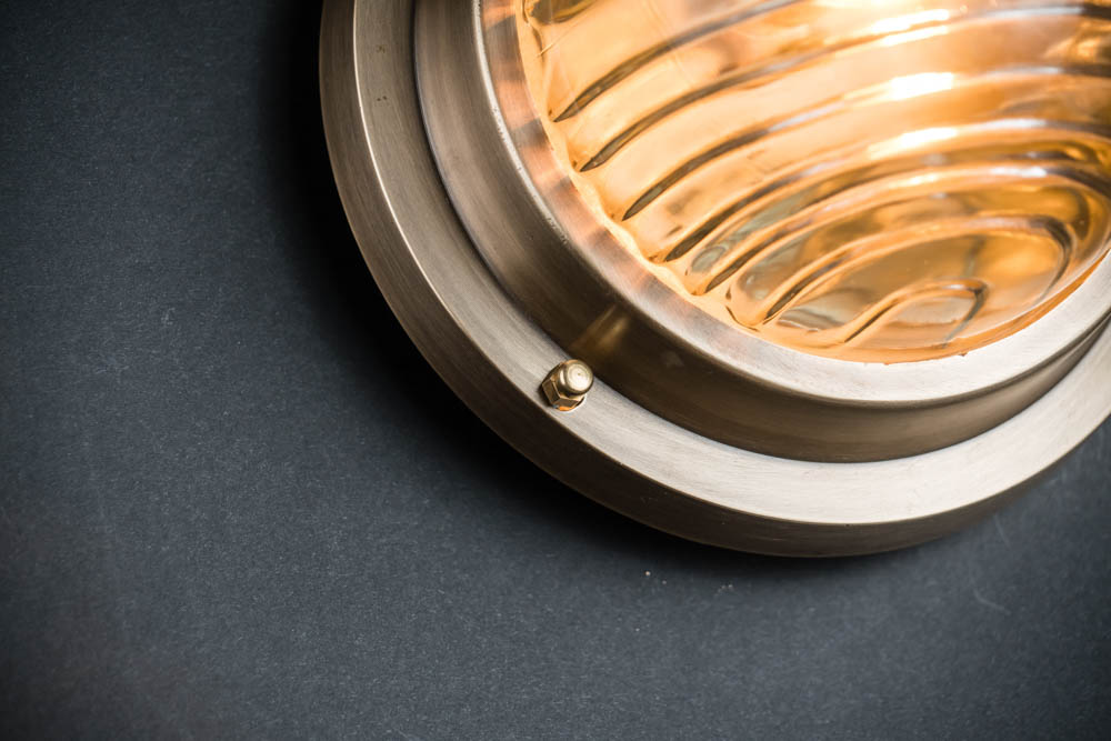 domed fresnel glass and brass passageway light 04.jpg