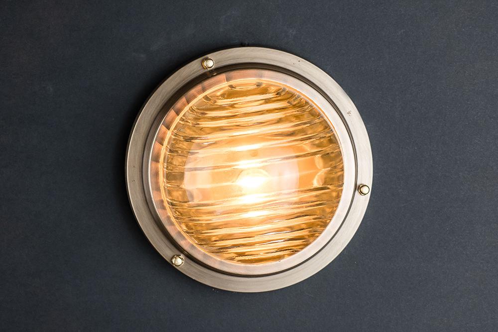 domed fresnel glass and brass passageway light 02.jpg