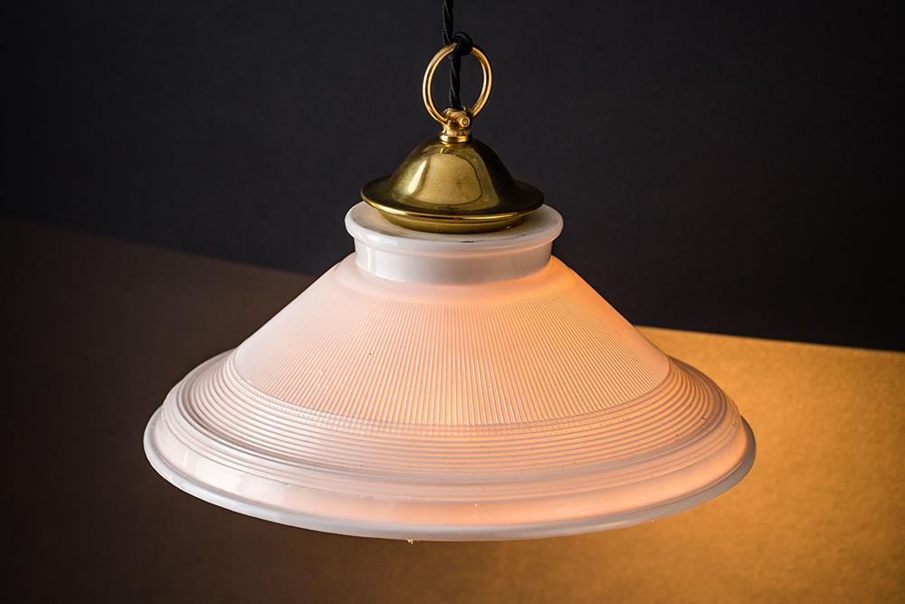 Brass and bone china holophane pendant 02.jpg