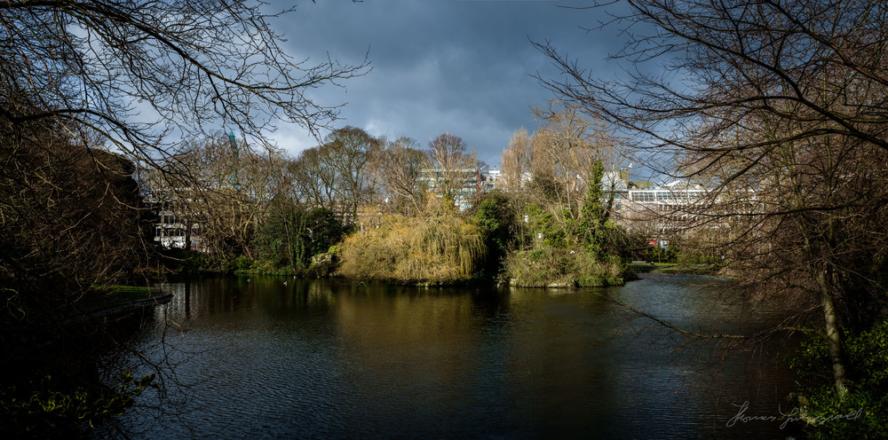 Moody Sky over Stephen's Green