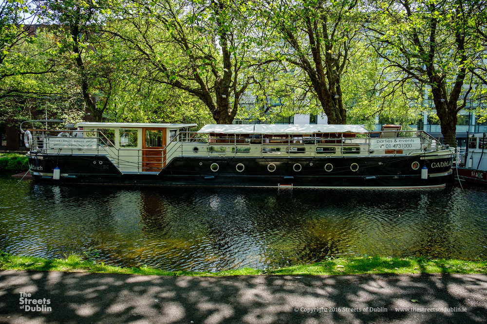 Party Barge on the Canal