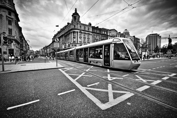 Luas Crossing O'Connell Street