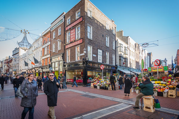 Grafton Street and South Anne Street