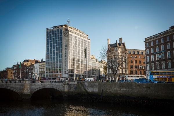 O'Connell Bridge and Heineken Building