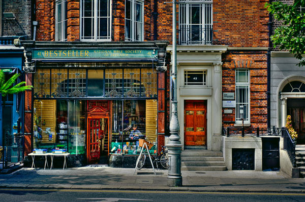 National Bible Society Bookshop on Dawson Street