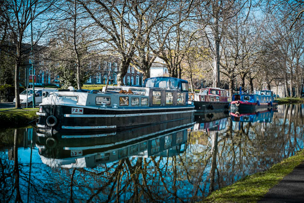 Barges in the Sunshine