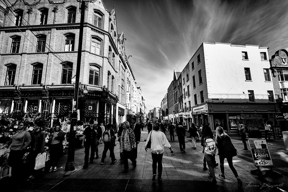 Grafton Street - The Streets of Dublin