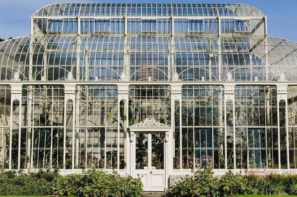 Ornate Greenhouses at the Botanic Gardens, Dublin